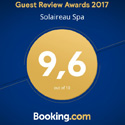Booking.com 2015 award - 9,4